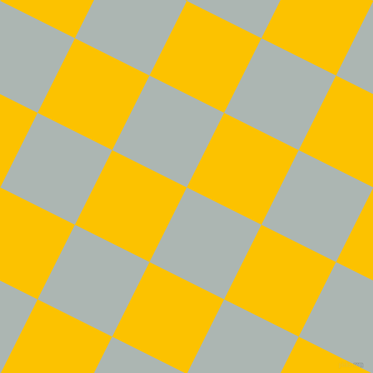 63/153 degree angle diagonal checkered chequered squares checker pattern checkers background, 121 pixel square size, , Periglacial Blue and Golden Poppy checkers chequered checkered squares seamless tileable