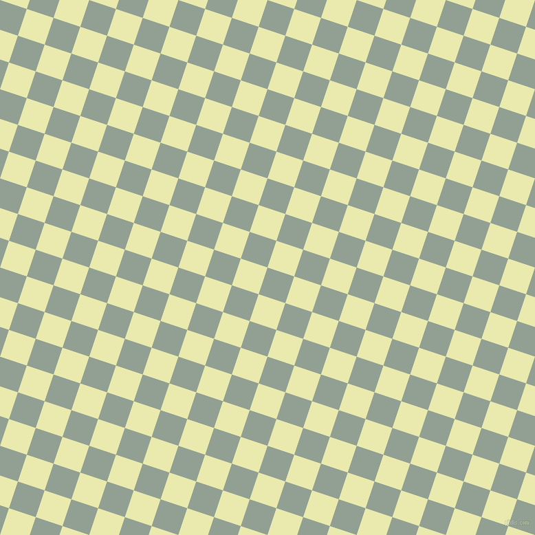 72/162 degree angle diagonal checkered chequered squares checker pattern checkers background, 41 pixel squares size, , Pewter and Medium Goldenrod checkers chequered checkered squares seamless tileable