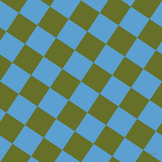 56/146 degree angle diagonal checkered chequered squares checker pattern checkers background, 73 pixel squares size, , Picton Blue and Rain Forest checkers chequered checkered squares seamless tileable