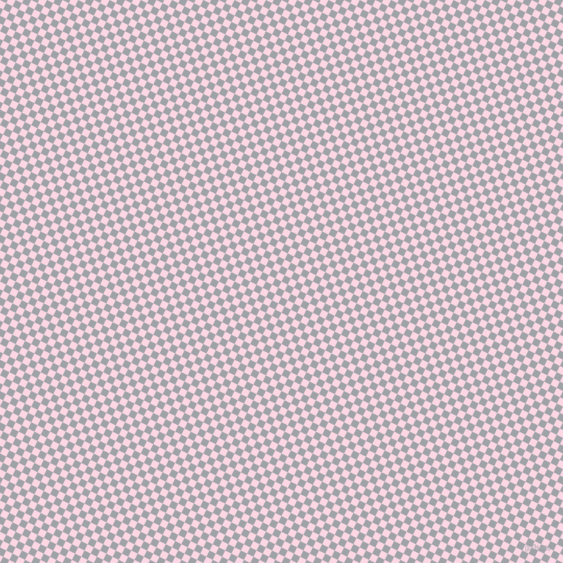 63/153 degree angle diagonal checkered chequered squares checker pattern checkers background, 10 pixel square size, Pig Pink and Grey Chateau checkers chequered checkered squares seamless tileable