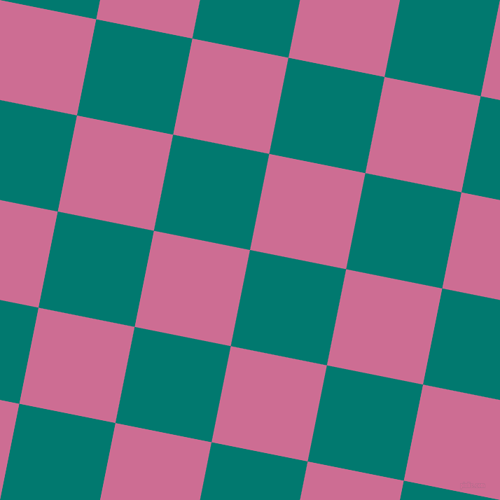 79/169 degree angle diagonal checkered chequered squares checker pattern checkers background, 140 pixel squares size, , Pine Green and Hopbush checkers chequered checkered squares seamless tileable
