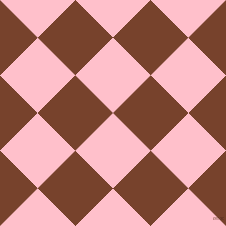 45/135 degree angle diagonal checkered chequered squares checker pattern checkers background, 181 pixel square size, , Pink and Copper Canyon checkers chequered checkered squares seamless tileable