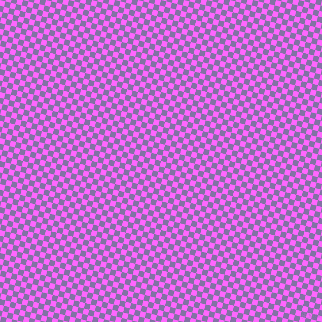 76/166 degree angle diagonal checkered chequered squares checker pattern checkers background, 11 pixel square size, Pink Flamingo and Deluge checkers chequered checkered squares seamless tileable
