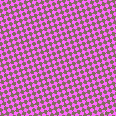 63/153 degree angle diagonal checkered chequered squares checker pattern checkers background, 13 pixel squares size, , Pink Flamingo and Donkey Brown checkers chequered checkered squares seamless tileable