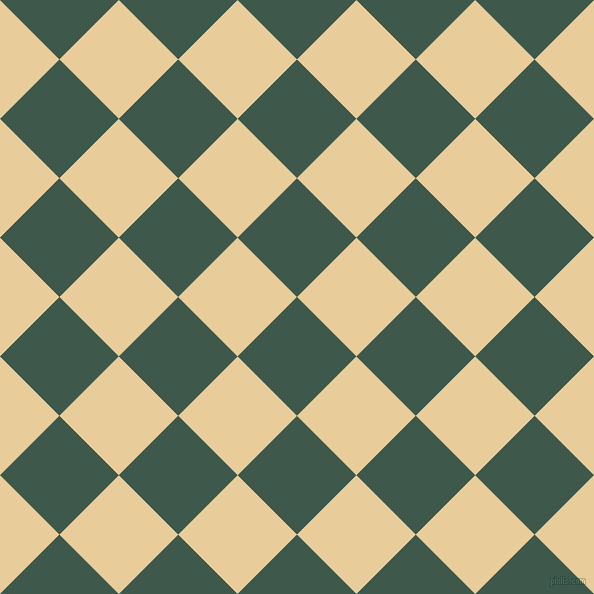 45/135 degree angle diagonal checkered chequered squares checker pattern checkers background, 84 pixel square size, , Plantation and Chamois checkers chequered checkered squares seamless tileable