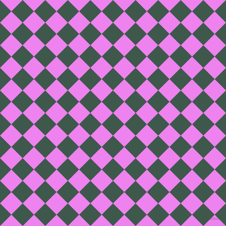 45/135 degree angle diagonal checkered chequered squares checker pattern checkers background, 54 pixel square size, , Plantation and Violet checkers chequered checkered squares seamless tileable