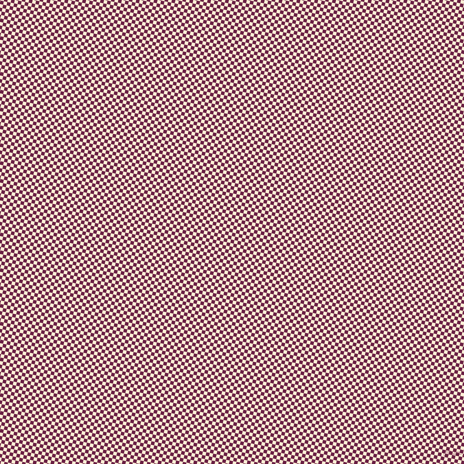 79/169 degree angle diagonal checkered chequered squares checker pattern checkers background, 7 pixel square size, , Pompadour and Papaya Whip checkers chequered checkered squares seamless tileable