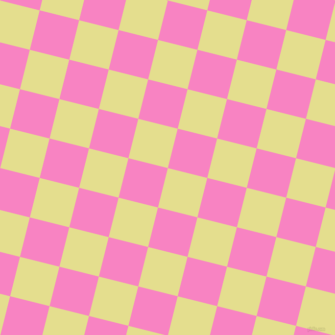 76/166 degree angle diagonal checkered chequered squares checker pattern checkers background, 83 pixel square size, , Primrose and Tea Rose checkers chequered checkered squares seamless tileable