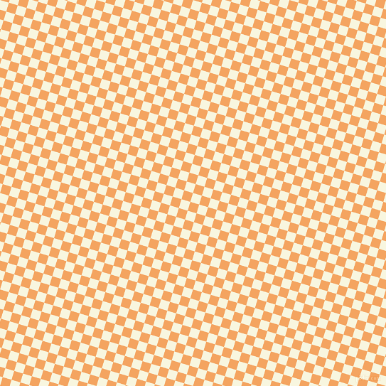 73/163 degree angle diagonal checkered chequered squares checker pattern checkers background, 13 pixel squares size, , Promenade and Sandy Brown checkers chequered checkered squares seamless tileable