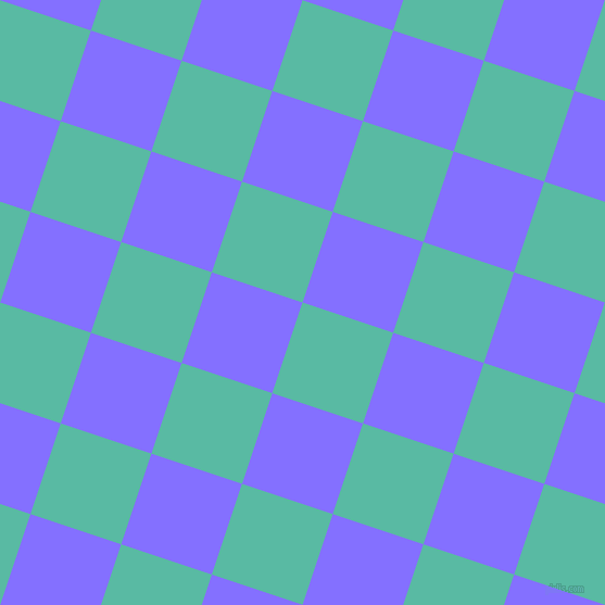 72/162 degree angle diagonal checkered chequered squares checker pattern checkers background, 88 pixel squares size, , Puerto Rico and Light Slate Blue checkers chequered checkered squares seamless tileable