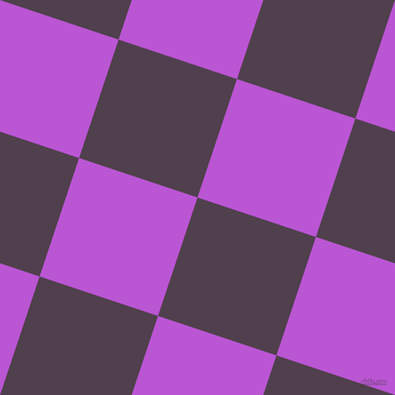 72/162 degree angle diagonal checkered chequered squares checker pattern checkers background, 177 pixel squares size, , Purple Taupe and Medium Orchid checkers chequered checkered squares seamless tileable