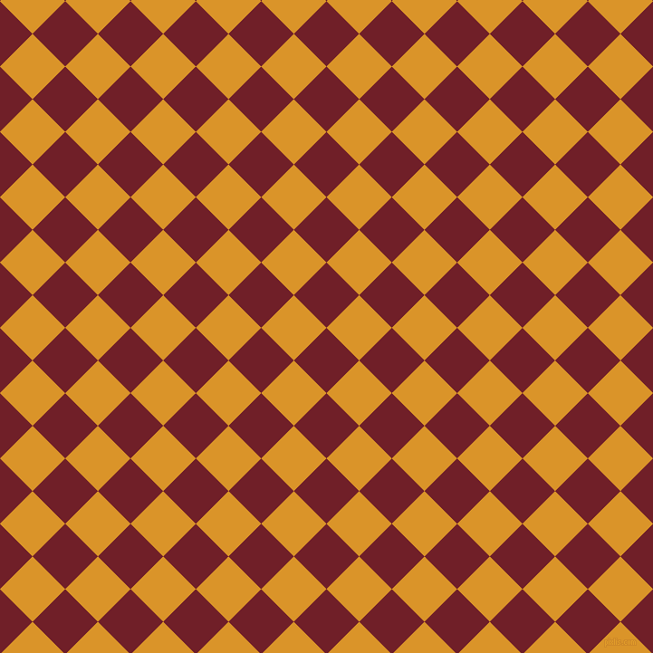 45/135 degree angle diagonal checkered chequered squares checker pattern checkers background, 51 pixel squares size, , Red Berry and Buttercup checkers chequered checkered squares seamless tileable
