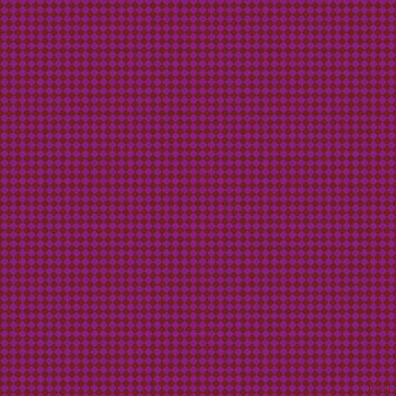 45/135 degree angle diagonal checkered chequered squares checker pattern checkers background, 9 pixel squares size, , Red Berry and Dark Purple checkers chequered checkered squares seamless tileable