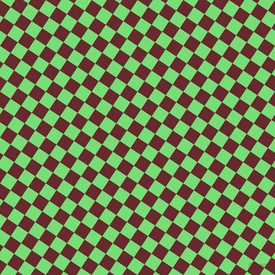 56/146 degree angle diagonal checkered chequered squares checker pattern checkers background, 25 pixel square size, , Red Devil and Pastel Green checkers chequered checkered squares seamless tileable