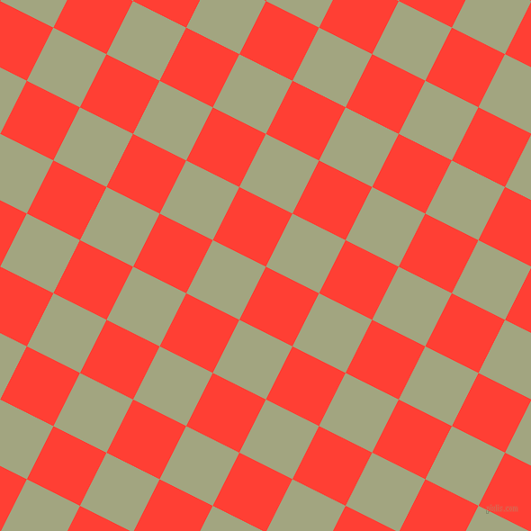 63/153 degree angle diagonal checkered chequered squares checker pattern checkers background, 66 pixel squares size, , Red Orange and Locust checkers chequered checkered squares seamless tileable