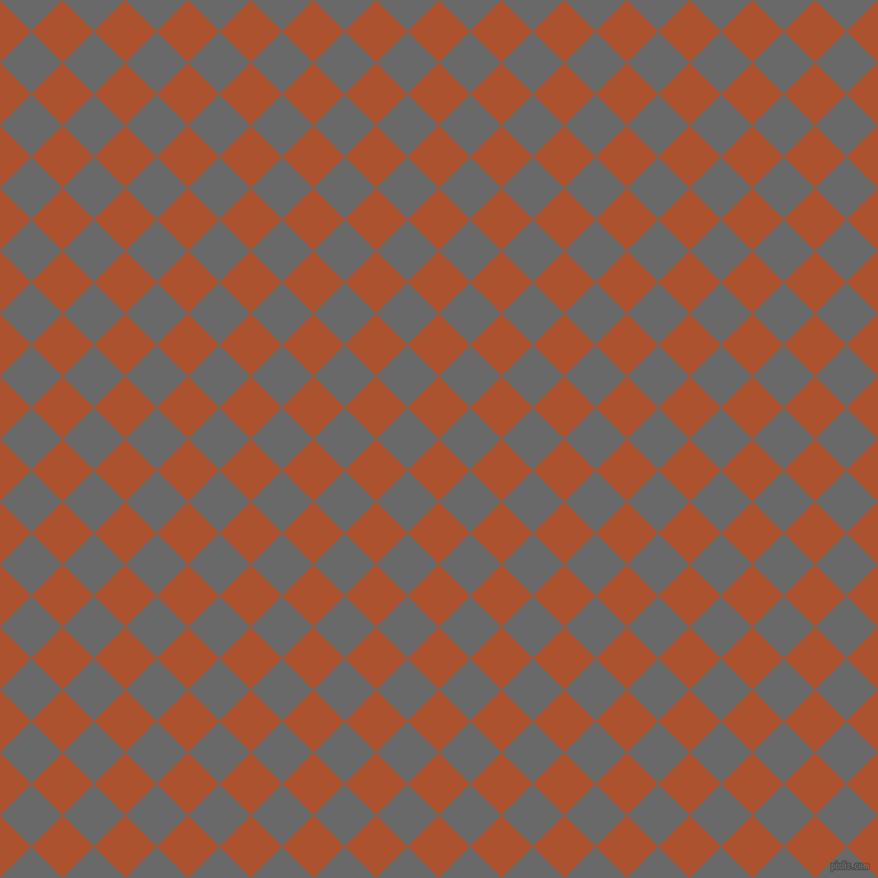 45/135 degree angle diagonal checkered chequered squares checker pattern checkers background, 40 pixel squares size, , Red Stage and Dim Gray checkers chequered checkered squares seamless tileable