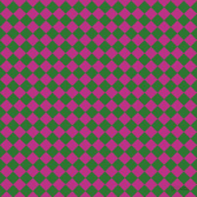 45/135 degree angle diagonal checkered chequered squares checker pattern checkers background, 19 pixel square size, , Red Violet and Japanese Laurel checkers chequered checkered squares seamless tileable