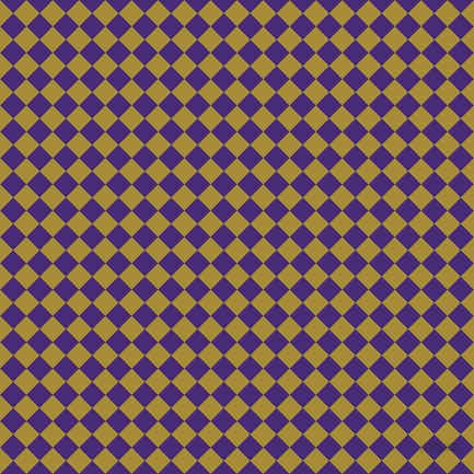 45/135 degree angle diagonal checkered chequered squares checker pattern checkers background, 17 pixel square size, Reef Gold and Windsor checkers chequered checkered squares seamless tileable