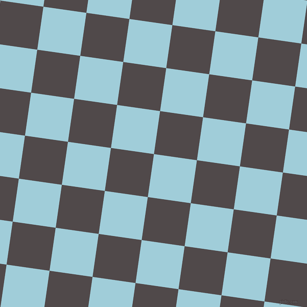 82/172 degree angle diagonal checkered chequered squares checker pattern checkers background, 85 pixel squares size, Regent St Blue and Emperor checkers chequered checkered squares seamless tileable
