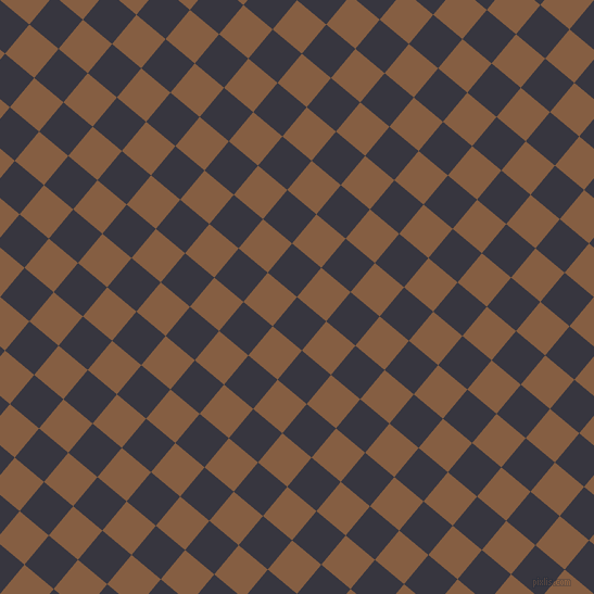50/140 degree angle diagonal checkered chequered squares checker pattern checkers background, 35 pixel squares size, , Revolver and Dark Wood checkers chequered checkered squares seamless tileable