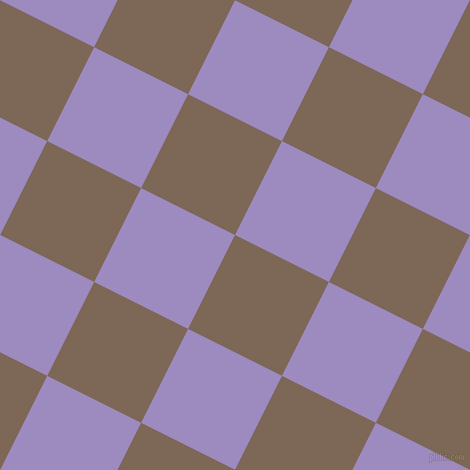 63/153 degree angle diagonal checkered chequered squares checker pattern checkers background, 105 pixel square size, , Roman Coffee and Cold Purple checkers chequered checkered squares seamless tileable