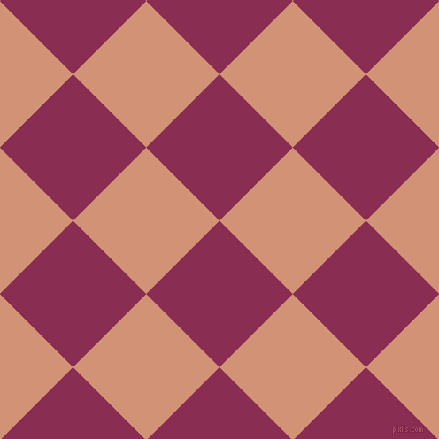 45/135 degree angle diagonal checkered chequered squares checker pattern checkers background, 117 pixel squares size, , Rose Bud Cherry and Feldspar checkers chequered checkered squares seamless tileable