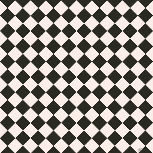 45/135 degree angle diagonal checkered chequered squares checker pattern checkers background, 38 pixel squares size, , Rose White and Maire checkers chequered checkered squares seamless tileable