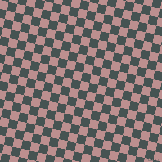 77/167 degree angle diagonal checkered chequered squares checker pattern checkers background, 29 pixel squares size, , Rosy Brown and Dark Slate checkers chequered checkered squares seamless tileable