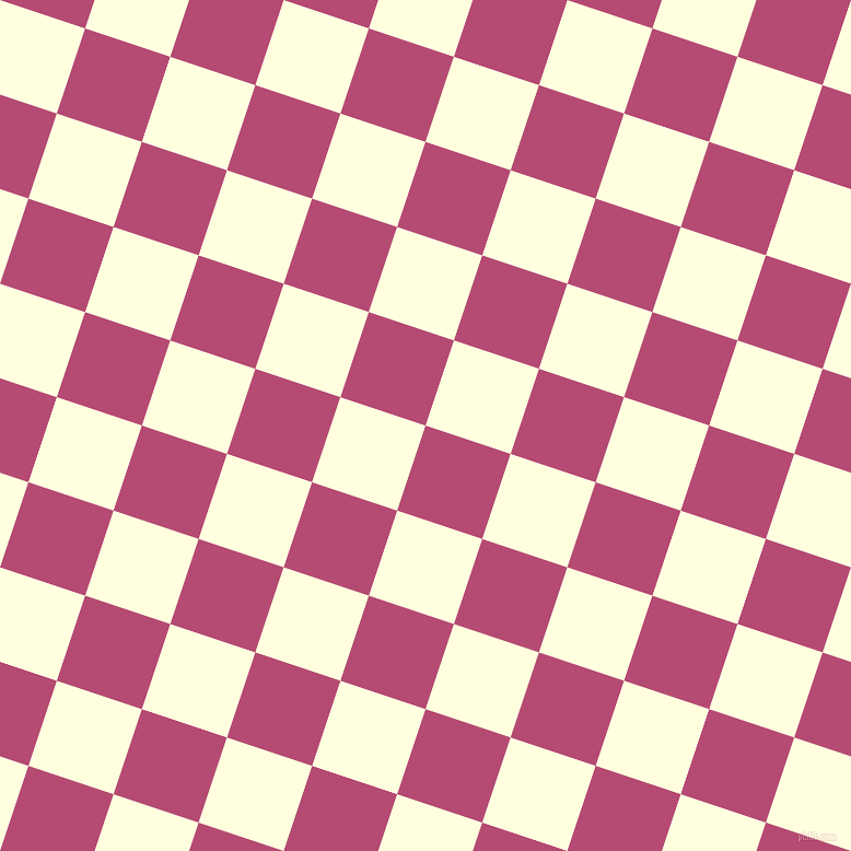72/162 degree angle diagonal checkered chequered squares checker pattern checkers background, 82 pixel squares size, , Royal Heath and Light Yellow checkers chequered checkered squares seamless tileable