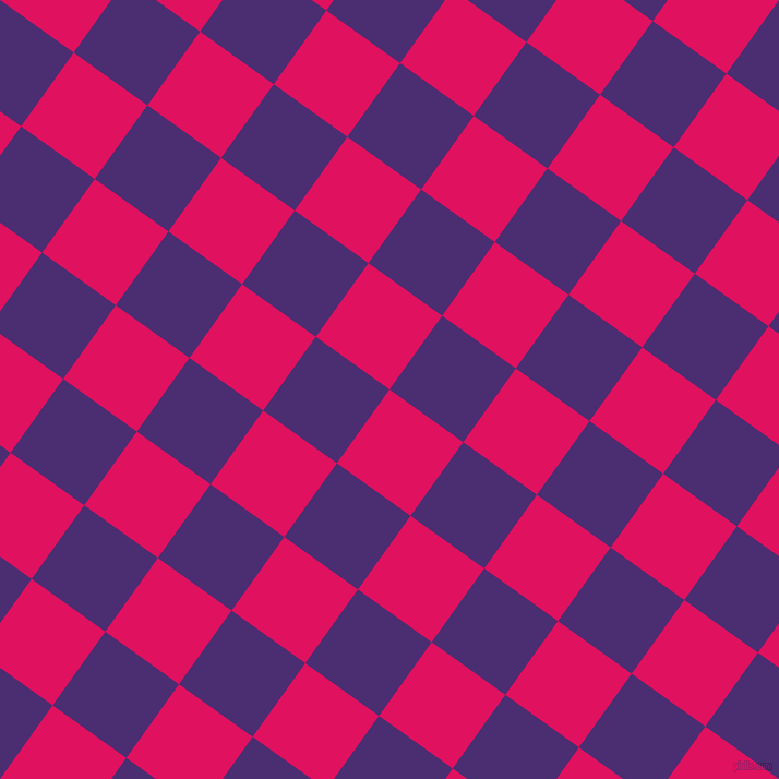 Ruby And Blue Diamond Checkers Chequered Checkered Squares