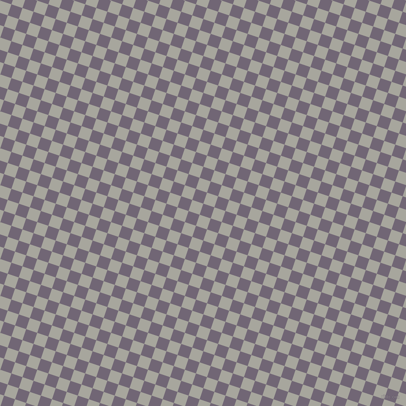 72/162 degree angle diagonal checkered chequered squares checker pattern checkers background, 23 pixel squares size, , Rum and Foggy Grey checkers chequered checkered squares seamless tileable