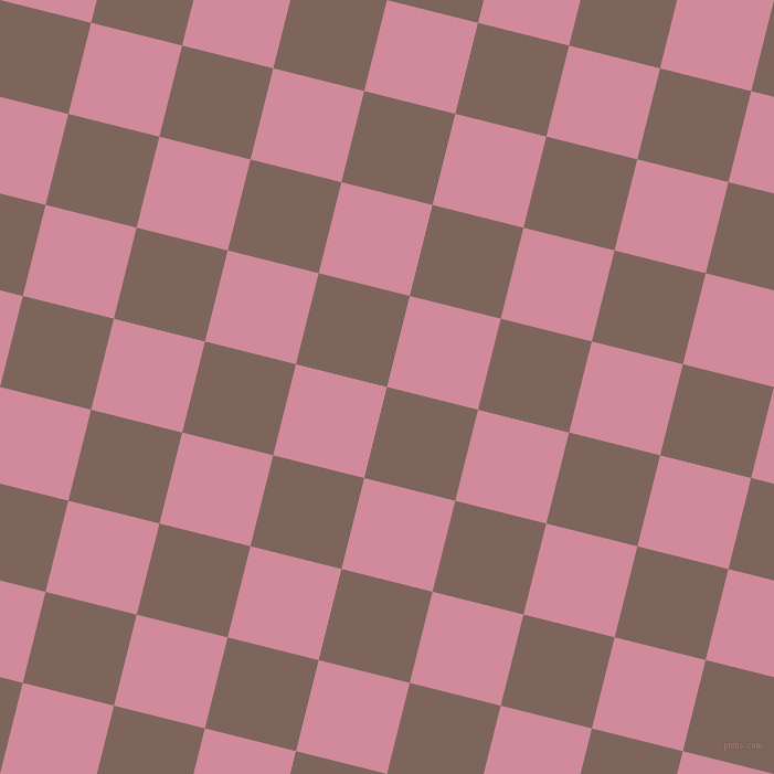 76/166 degree angle diagonal checkered chequered squares checker pattern checkers background, 85 pixel square size, , Russett and Can Can checkers chequered checkered squares seamless tileable