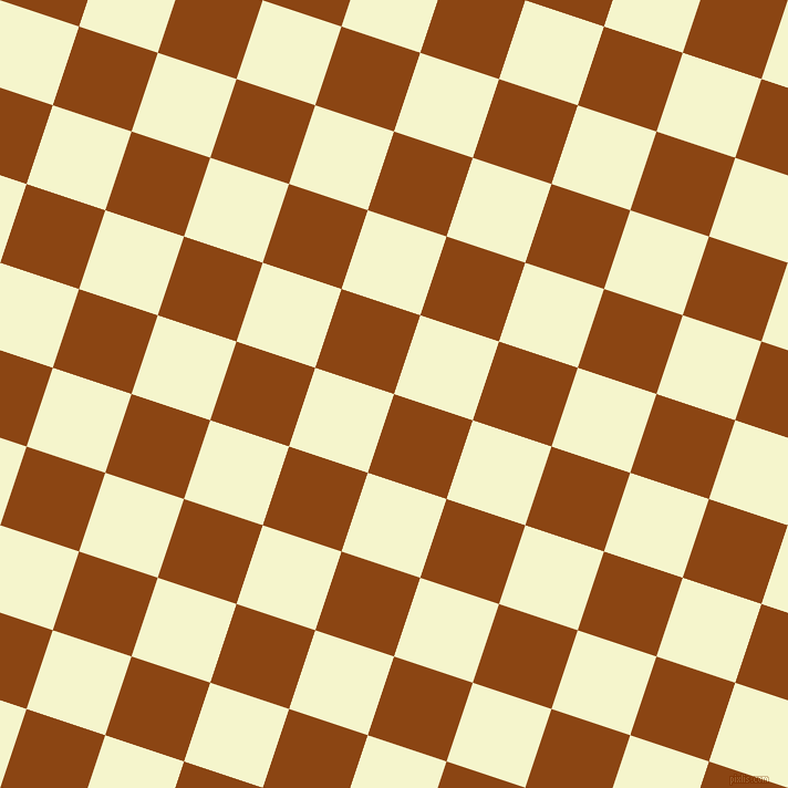 72/162 degree angle diagonal checkered chequered squares checker pattern checkers background, 75 pixel square size, , Saddle Brown and Mimosa checkers chequered checkered squares seamless tileable