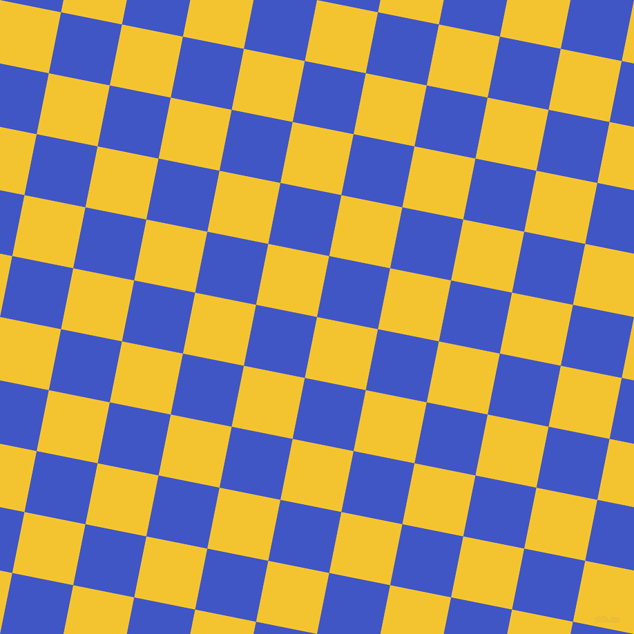 79/169 degree angle diagonal checkered chequered squares checker pattern checkers background, 90 pixel squares size, , Saffron and Free Speech Blue checkers chequered checkered squares seamless tileable