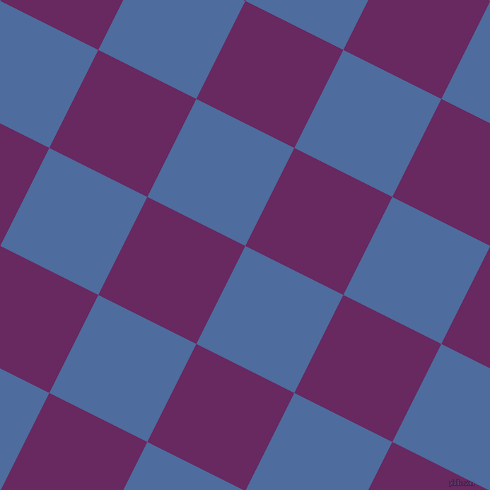 63/153 degree angle diagonal checkered chequered squares checker pattern checkers background, 155 pixel squares size, , San Marino and Palatinate Purple checkers chequered checkered squares seamless tileable
