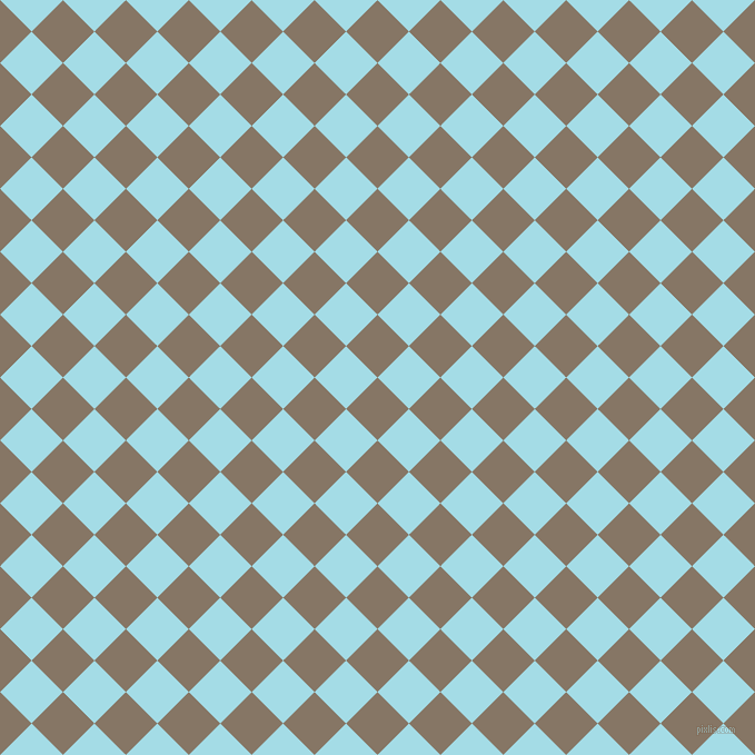 45/135 degree angle diagonal checkered chequered squares checker pattern checkers background, 40 pixel square size, , Sand Dune and Charlotte checkers chequered checkered squares seamless tileable