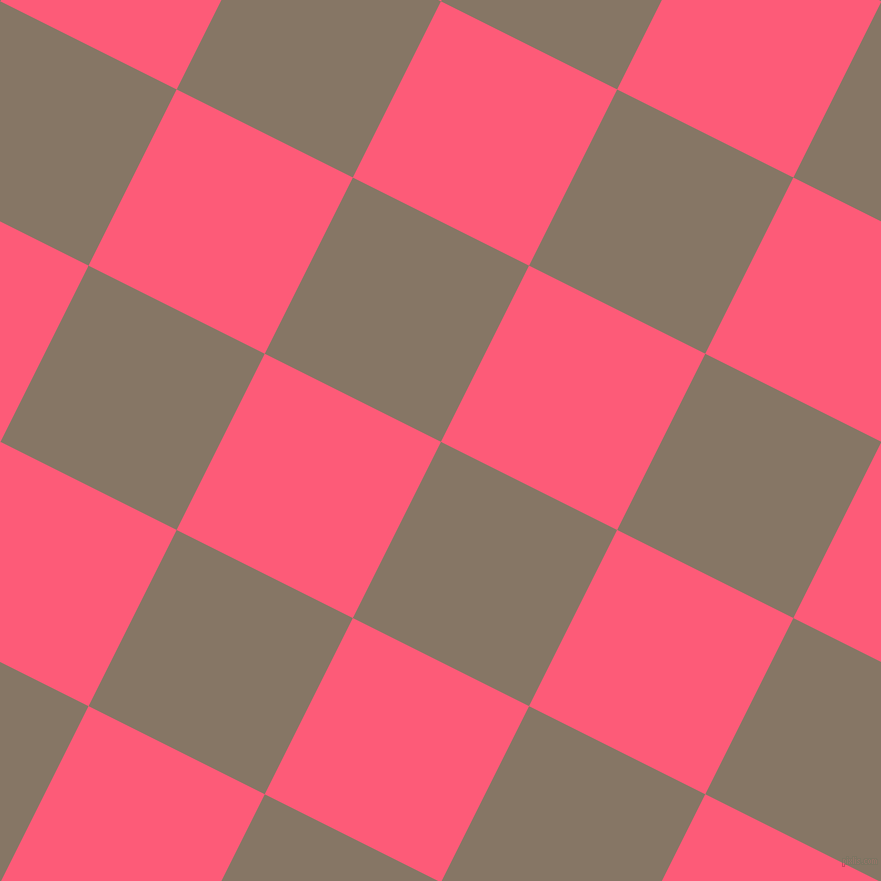 63/153 degree angle diagonal checkered chequered squares checker pattern checkers background, 197 pixel squares size, , Sand Dune and Wild Watermelon checkers chequered checkered squares seamless tileable