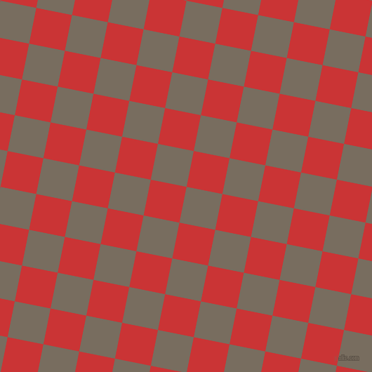 79/169 degree angle diagonal checkered chequered squares checker pattern checkers background, 52 pixel squares size, , Sandstone and Mahogany checkers chequered checkered squares seamless tileable