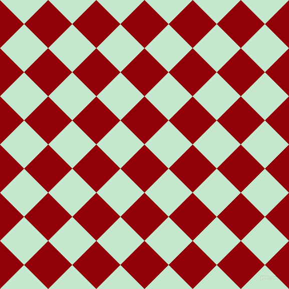45/135 degree angle diagonal checkered chequered squares checker pattern checkers background, 68 pixel squares size, , Sangria and Granny Apple checkers chequered checkered squares seamless tileable