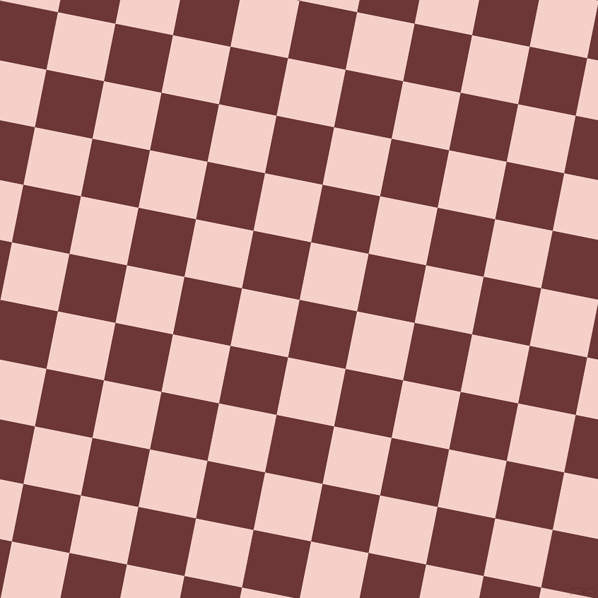 79/169 degree angle diagonal checkered chequered squares checker pattern checkers background, 83 pixel square size, , Sanguine Brown and Coral Candy checkers chequered checkered squares seamless tileable