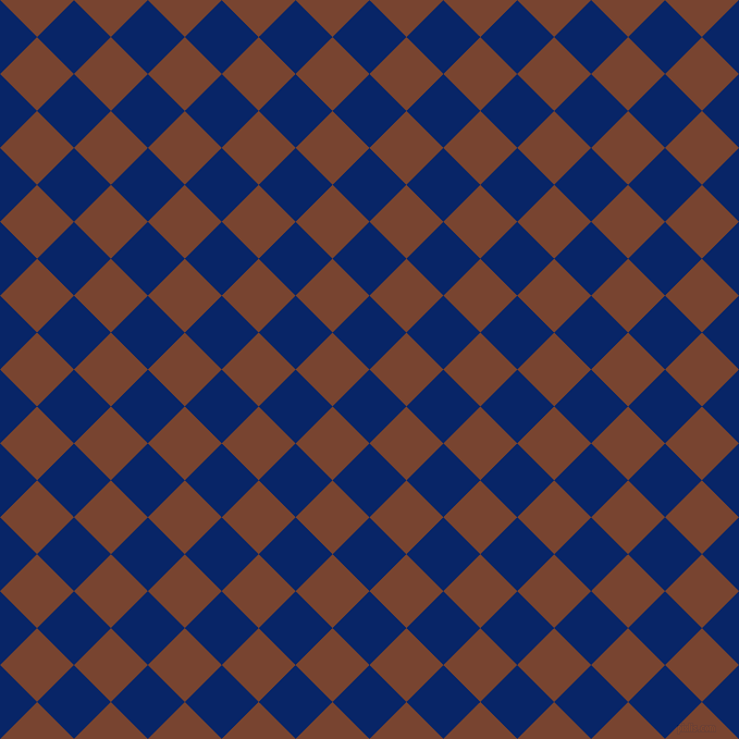 45/135 degree angle diagonal checkered chequered squares checker pattern checkers background, 48 pixel squares size, , Sapphire and Cumin checkers chequered checkered squares seamless tileable