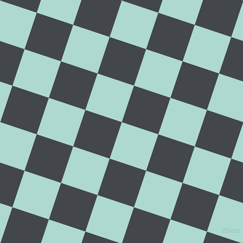 72/162 degree angle diagonal checkered chequered squares checker pattern checkers background, 78 pixel square size, Scandal and Steel Grey checkers chequered checkered squares seamless tileable