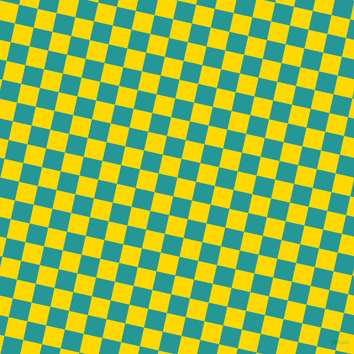 77/167 degree angle diagonal checkered chequered squares checker pattern checkers background, 39 pixel square size, , School Bus Yellow and Java checkers chequered checkered squares seamless tileable