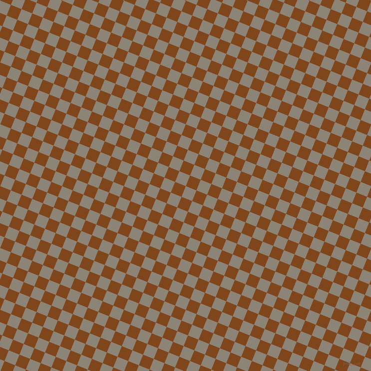 68/158 degree angle diagonal checkered chequered squares checker pattern checkers background, 23 pixel squares size, , Schooner and Russet checkers chequered checkered squares seamless tileable
