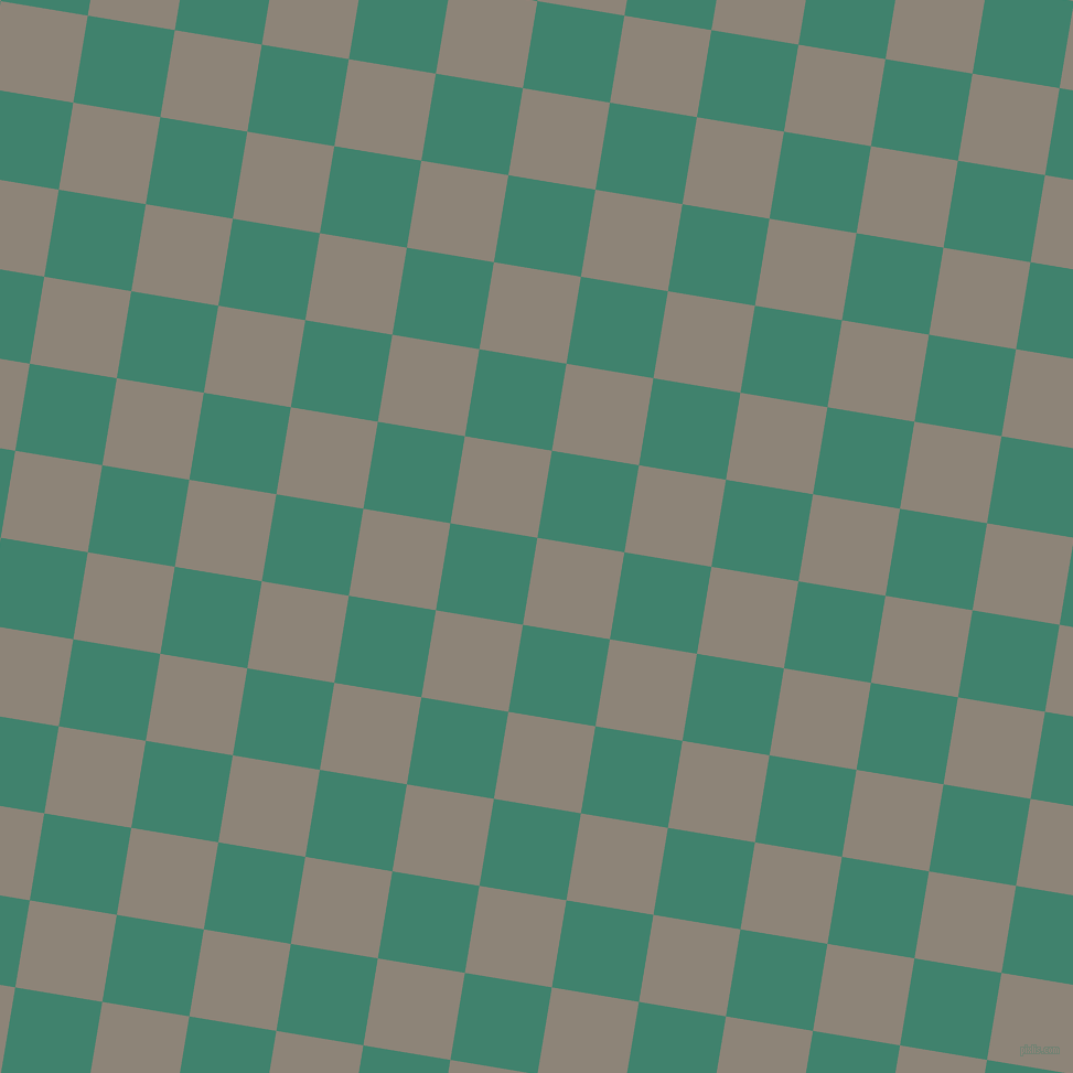 81/171 degree angle diagonal checkered chequered squares checker pattern checkers background, 80 pixel squares size, , Schooner and Viridian checkers chequered checkered squares seamless tileable