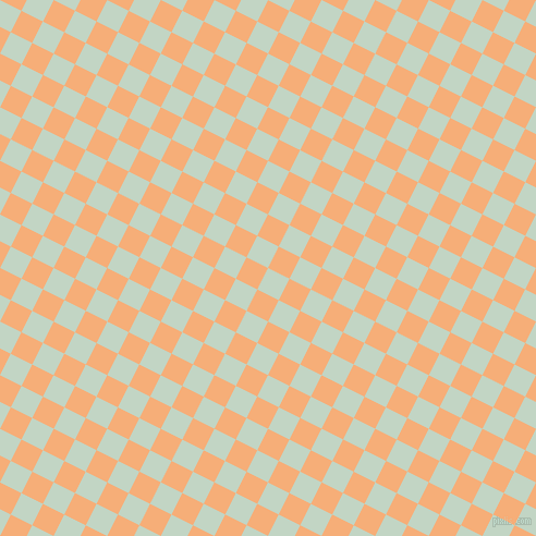 63/153 degree angle diagonal checkered chequered squares checker pattern checkers background, 22 pixel square size, , Sea Mist and Tacao checkers chequered checkered squares seamless tileable