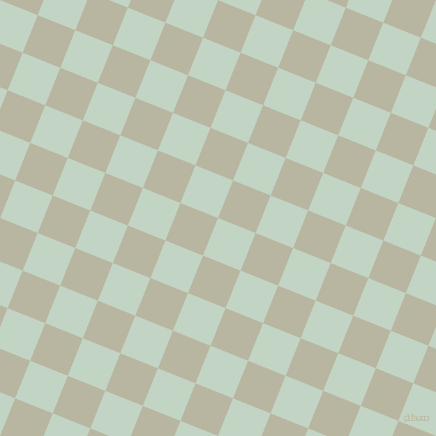 68/158 degree angle diagonal checkered chequered squares checker pattern checkers background, 58 pixel square size, , Sea Mist and Tana checkers chequered checkered squares seamless tileable