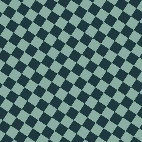 56/146 degree angle diagonal checkered chequered squares checker pattern checkers background, 40 pixel square size, , Sea Nymph and Nordic checkers chequered checkered squares seamless tileable