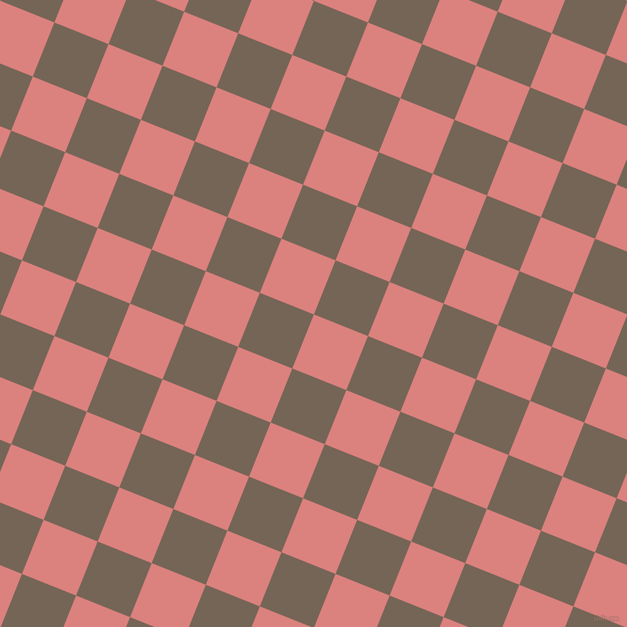 68/158 degree angle diagonal checkered chequered squares checker pattern checkers background, 82 pixel square size, , Sea Pink and Pine Cone checkers chequered checkered squares seamless tileable