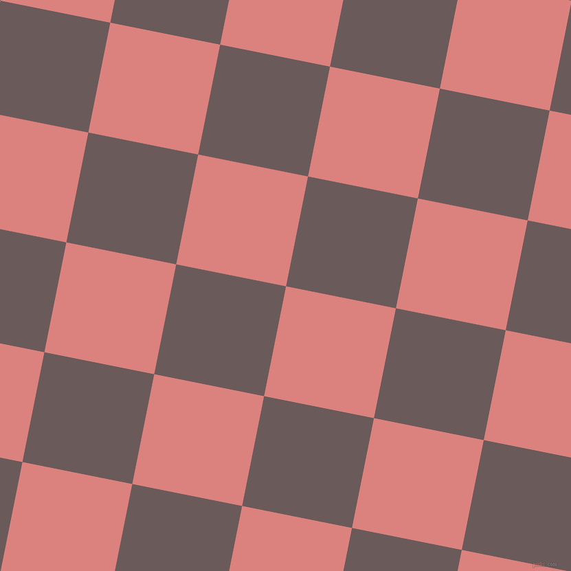 79/169 degree angle diagonal checkered chequered squares checker pattern checkers background, 163 pixel squares size, , Sea Pink and Zambezi checkers chequered checkered squares seamless tileable